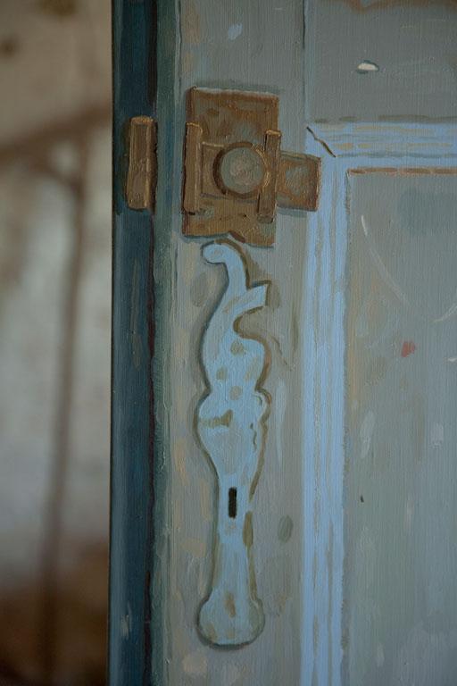 Porte Bleue Argile, 2014 (détail)