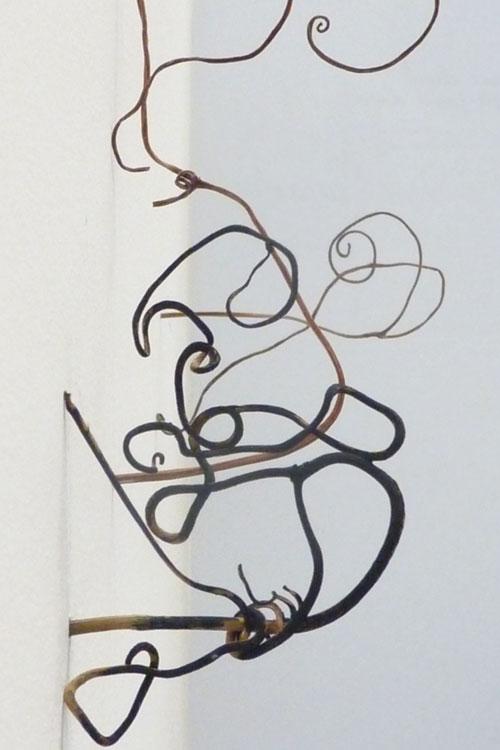 Sans titre, 2012, installation © Mathilde Papapietro